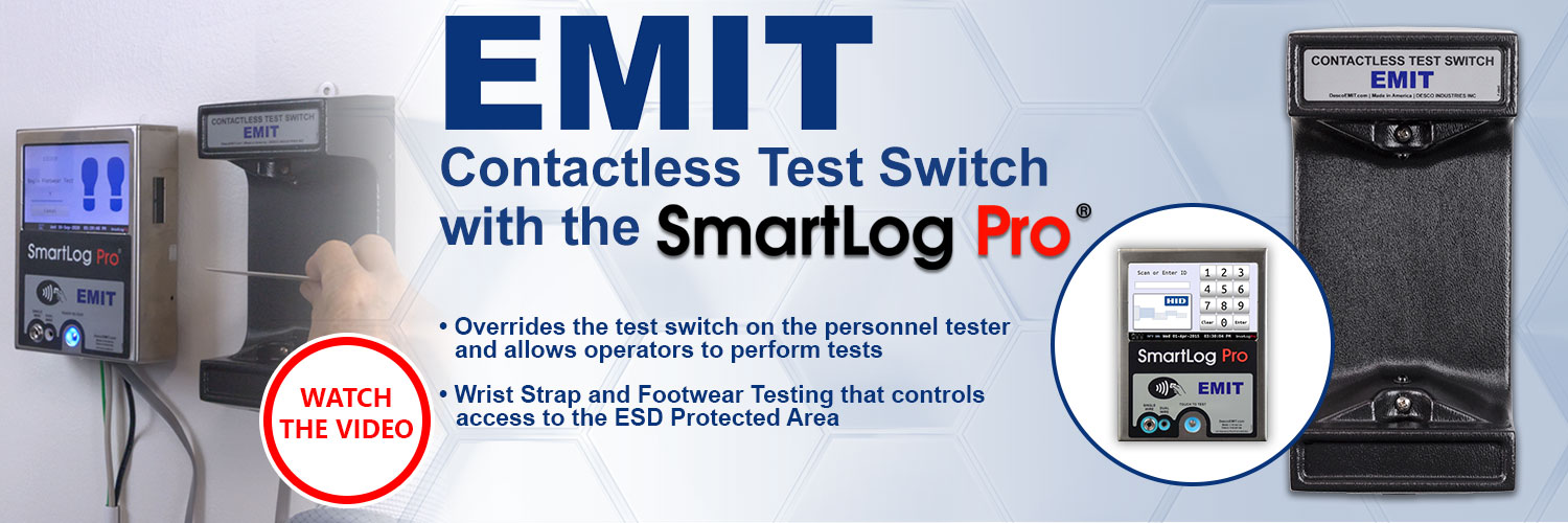 EMIT Contactless Test Switch with SmartLog Pro®